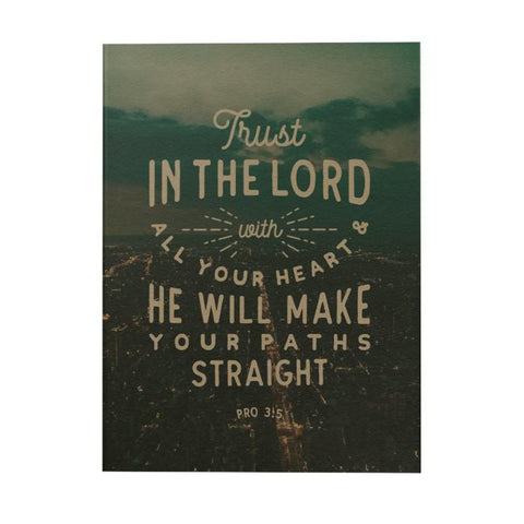 Trust in the Lord Notebook