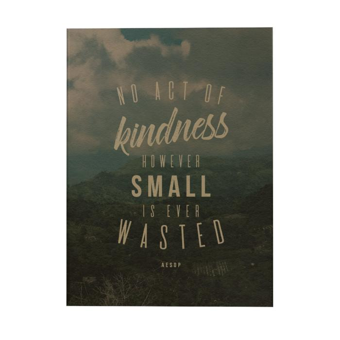 No Act of Kindness Notebook