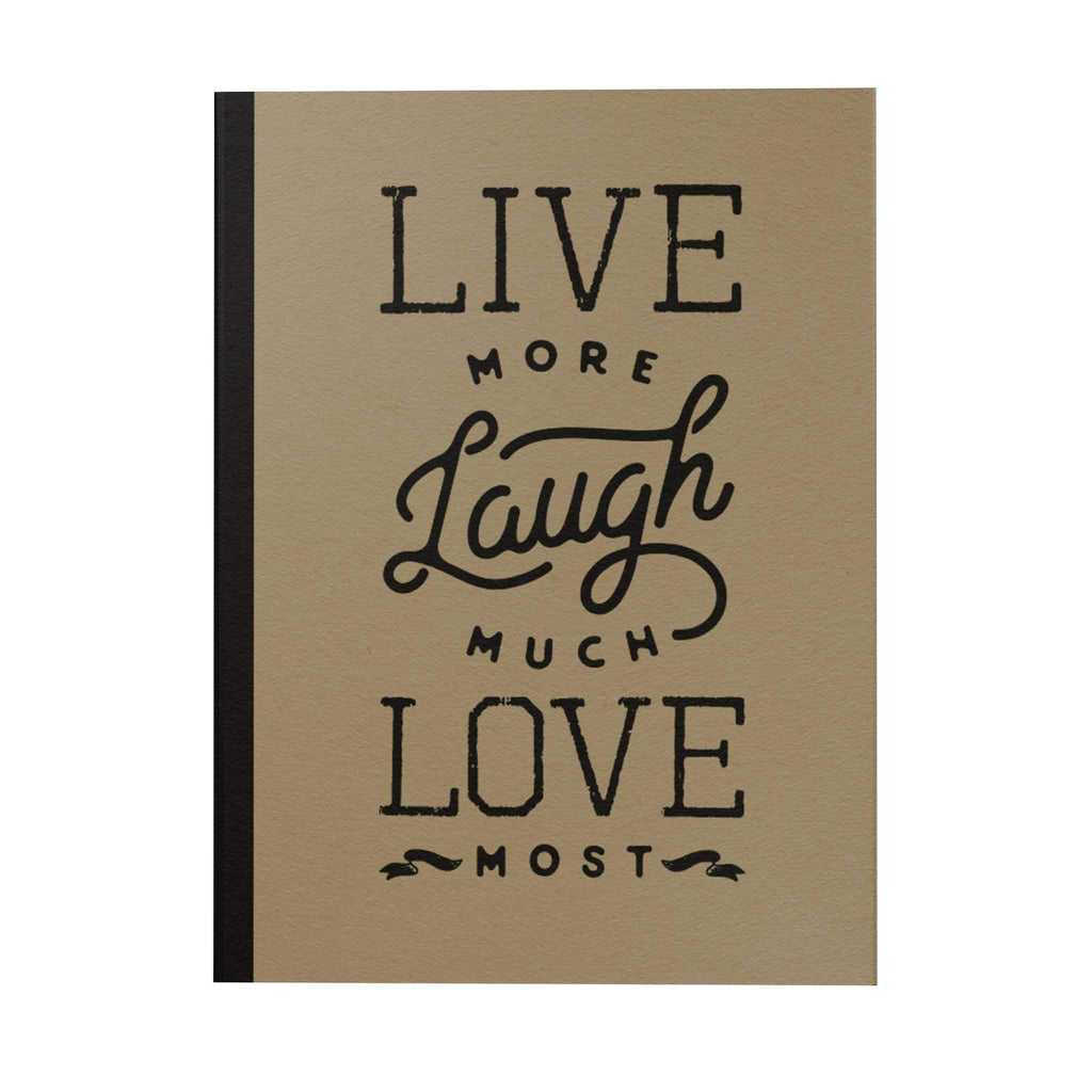Live More Notebook