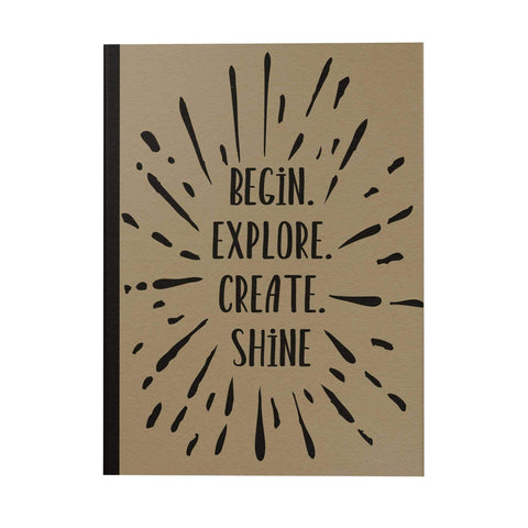 Begin Explore Create Notebook