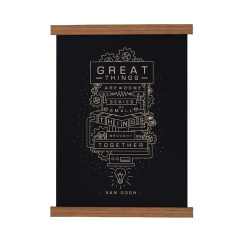 Great Things Are Done Scroll