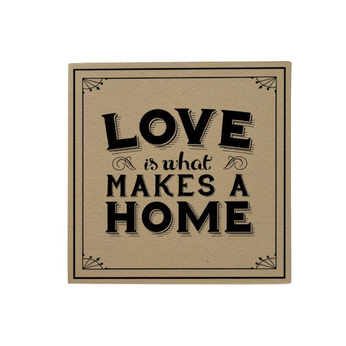 Love Is What Makes a Home Desk Pad