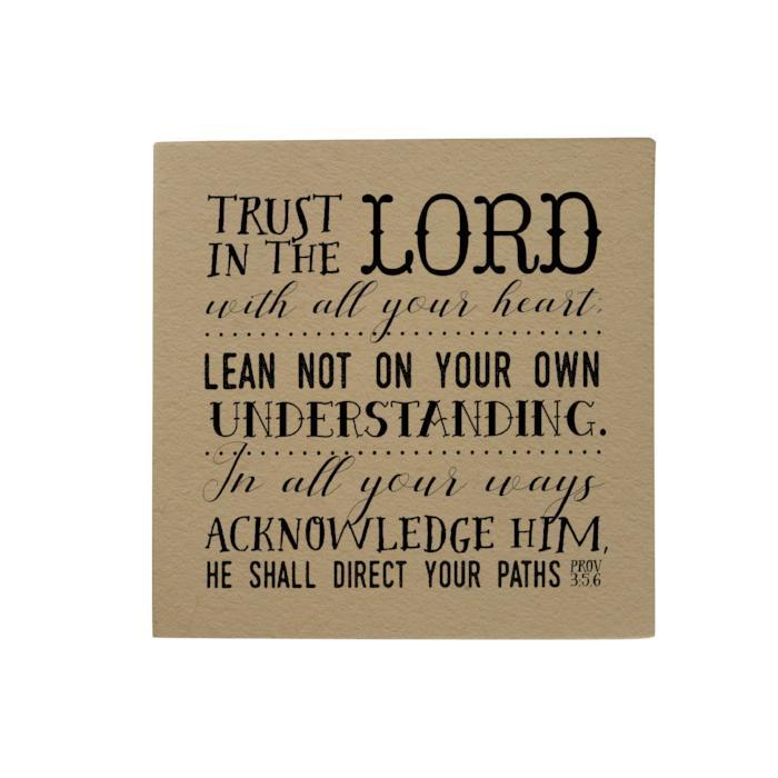 Trust in the Lord Desk Pad