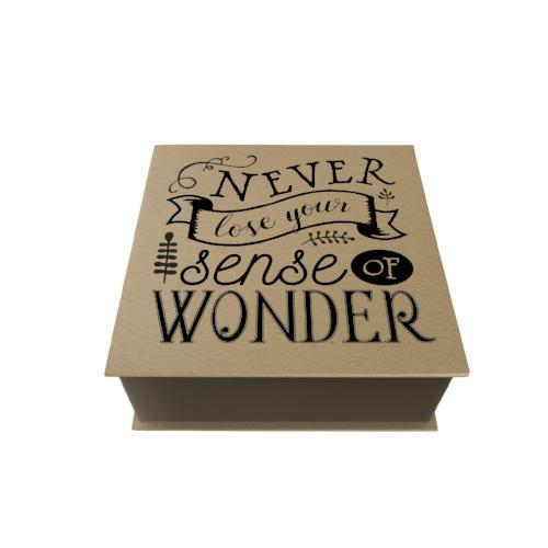 Never Lose Your Sense of Wonder Desk Pad