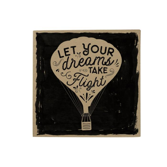 Let Your Dreams Take Flight Desk Pad