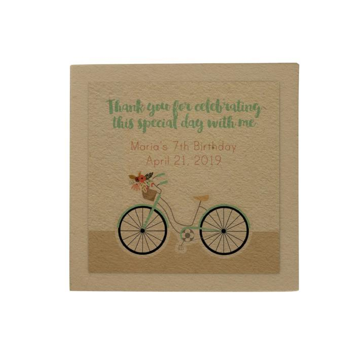Bicycle Personalized Desk Pad