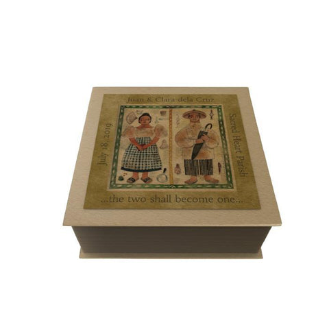 Filipiniana Couple Personalized Desk Pad