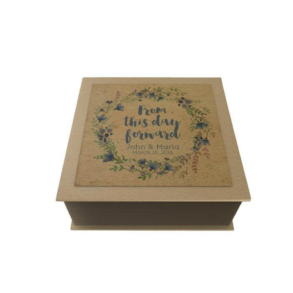 From This Day Personalized Desk Pad: Wreath