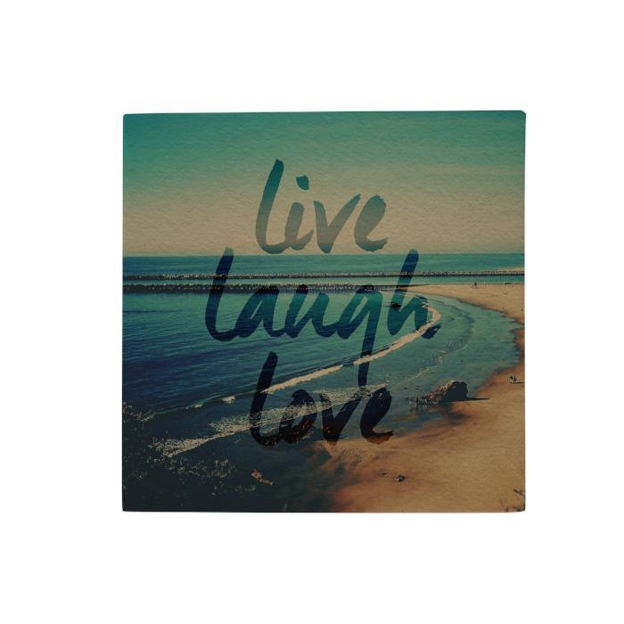 Live Laugh Love Desk Pad