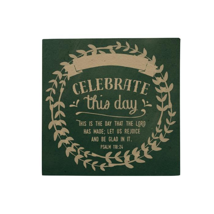 Celebrate This Day Desk Pad
