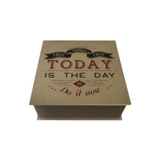 Today is the Day Desk Pad