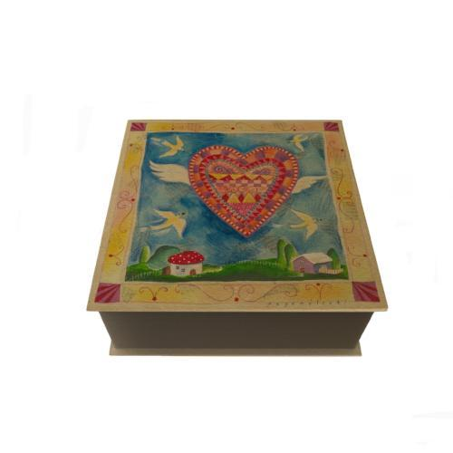 Winged Heart Desk Pad