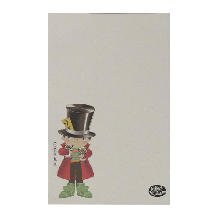Little Top Hat Notepad