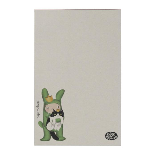Litte Green Rabbit Notepad