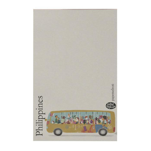 Philippines: Bus Notepad