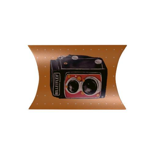 Vintage Cameras Pillow Box