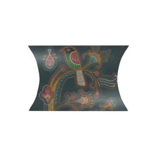 Indian Sari Bird pillow Box