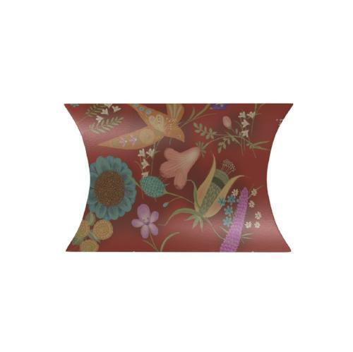 Scarlet Sparrow Pillow Box