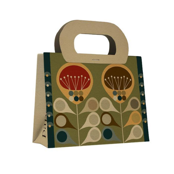 Whimsical Flowers Gift Bag