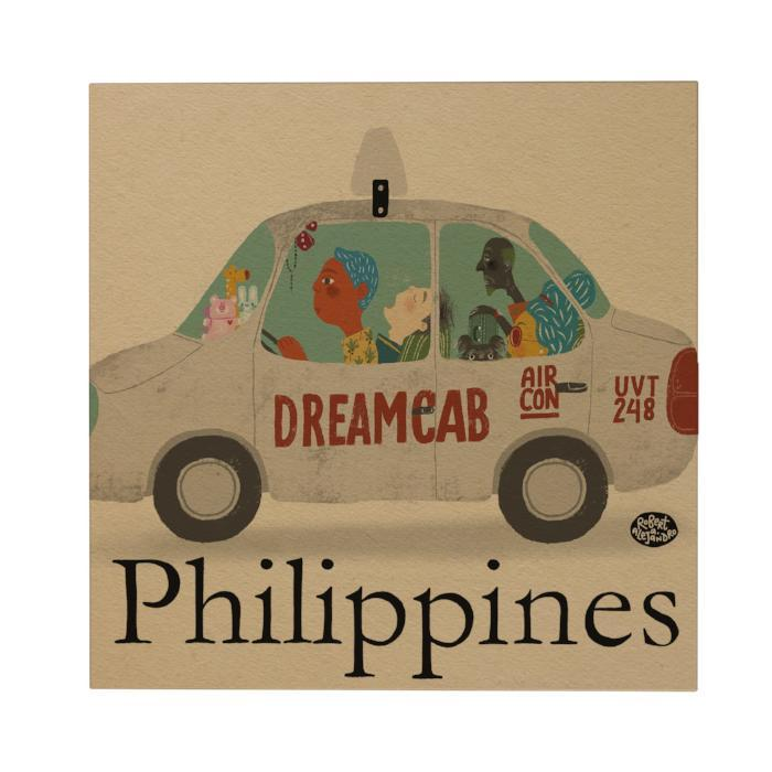 Philippines: Dreamcab Postcard