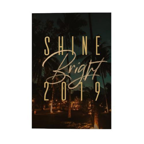 Shine Bright Pocket Planner