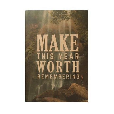 Make This Year Worth Pocket Planner