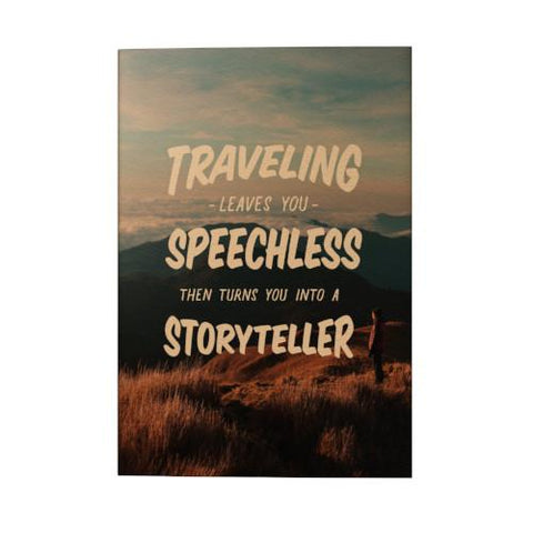 Traveling Leaves You Speechless Pocket Planner (2019)