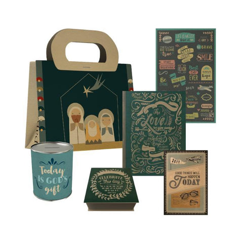 Holy Family Gift Bag Set