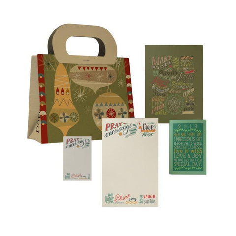 Christmas Ornaments Gift Bag Set