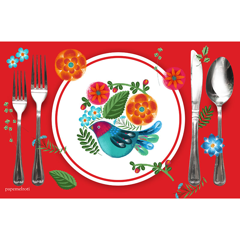 South American Printable Party Placemat