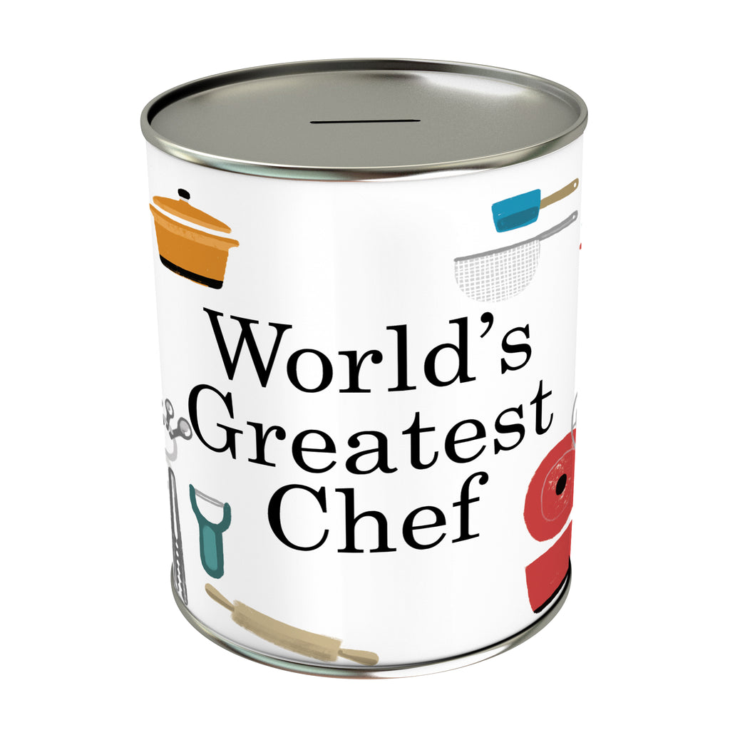 World's Greatest Chef Coin Bank