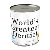 World's Greatest Dentist Coin Bank