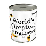 World's Greatest Engineer Coin Bank