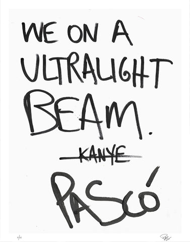 We On A Ultralight Beam (Limited Edition Print)