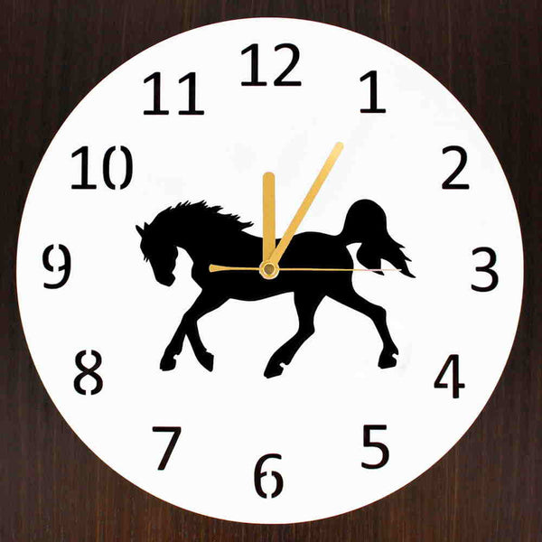 Horse Wall Clock - Multiple models