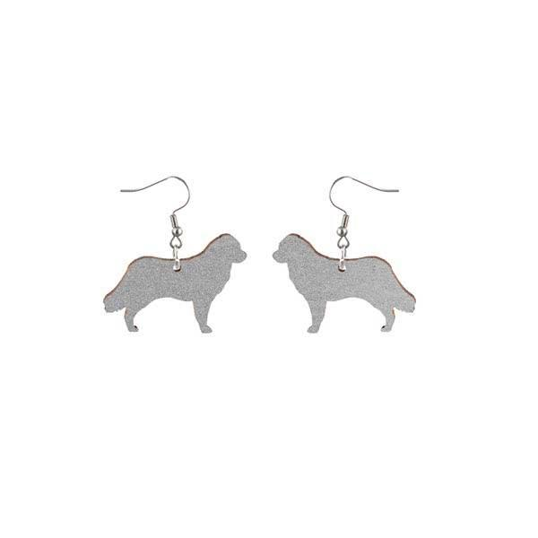 Bernese Mountain Dog earrings