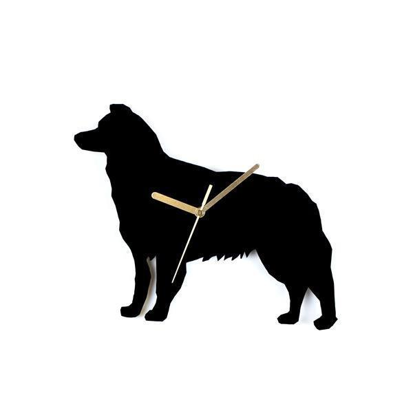 Bordercollie wall clock - Samaskoru.fi