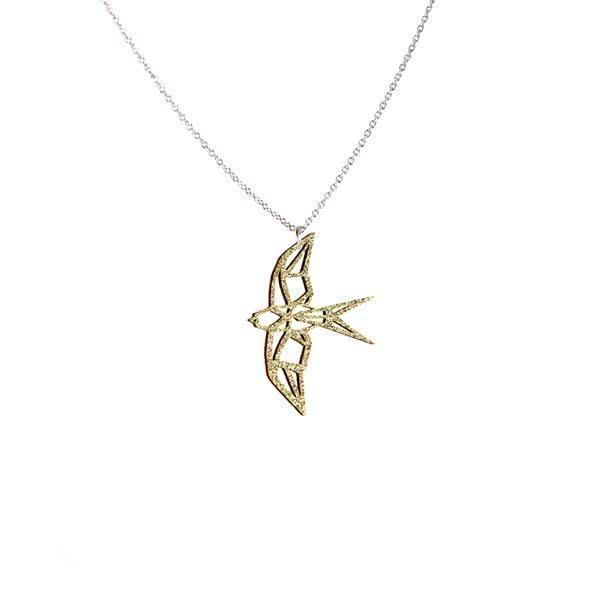 Design Swallow necklace