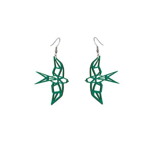 Design Swallow earrings