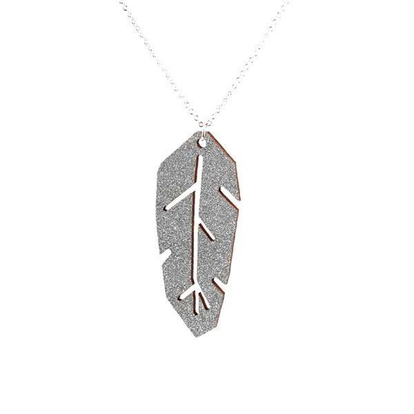 Indian Feather necklace