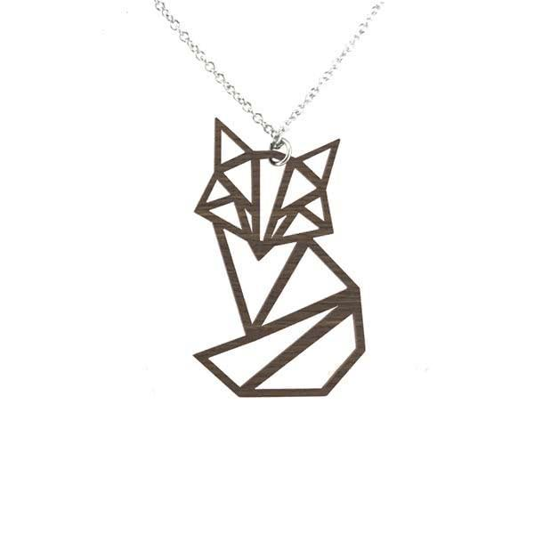 Sitting Fox necklace