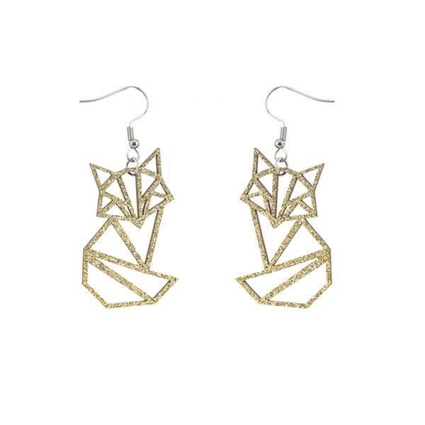 Sitting Fox earrings