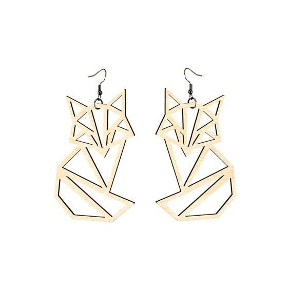 Sitting Fox earrings - ULJAS