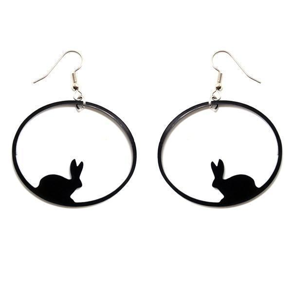Night of the Rabbits earrings