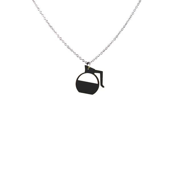 Black Coffee necklace