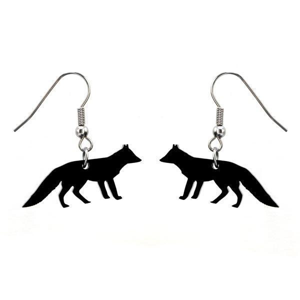 Walking Fox earrings