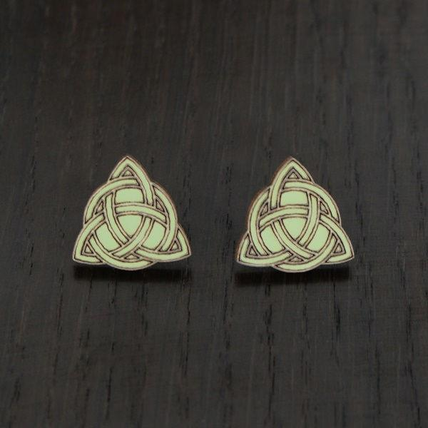Celtic Knot stud earrings