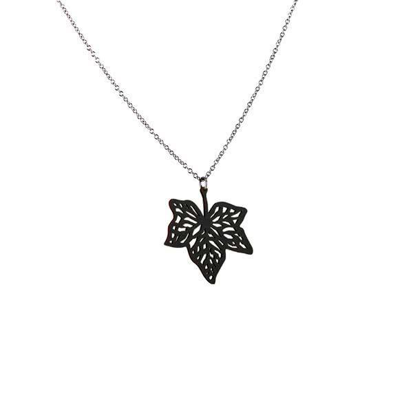 Whoosh of Leaves necklace