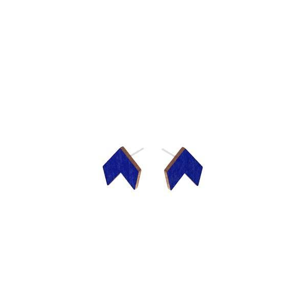 Small Puzzle of Life stud earrings