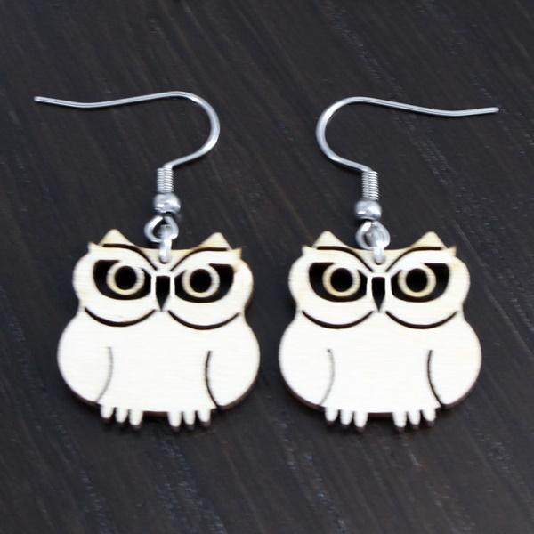 Mother of Owls earrings